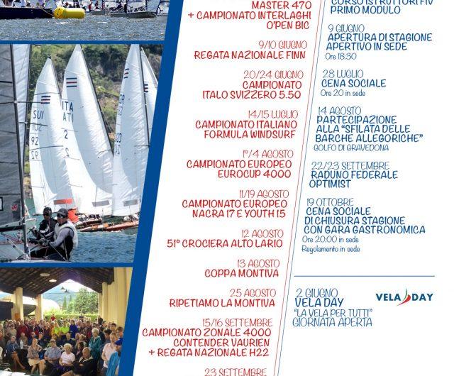 CALENDARIO REGATE e EVENTI 2018