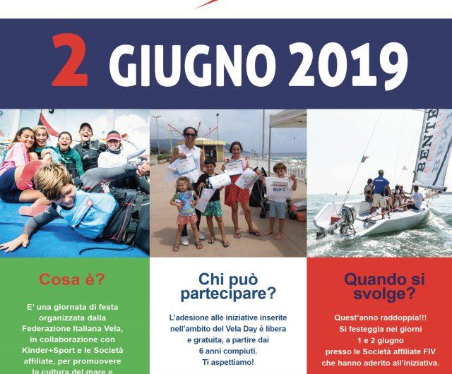 "VELA DAY 2019, ""la vela per tutti"""