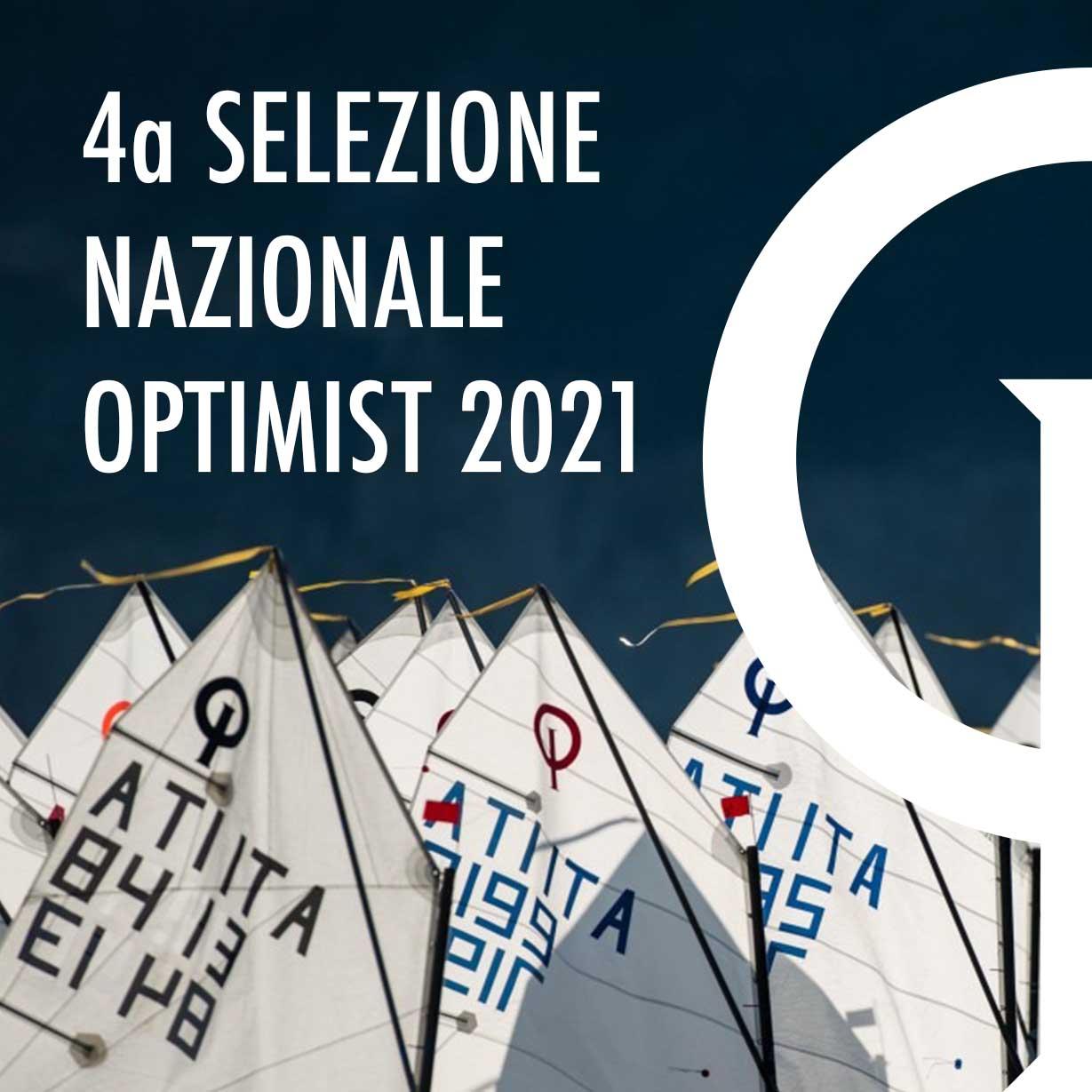 4a SELEZIONE NAZIONALE OPTIMIST 2021